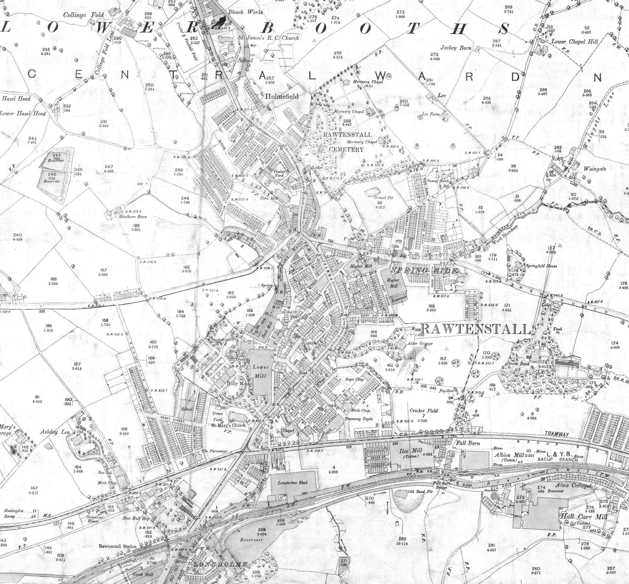 Lancashire County Council Environment Directorate Old Maps – Map Uk Os