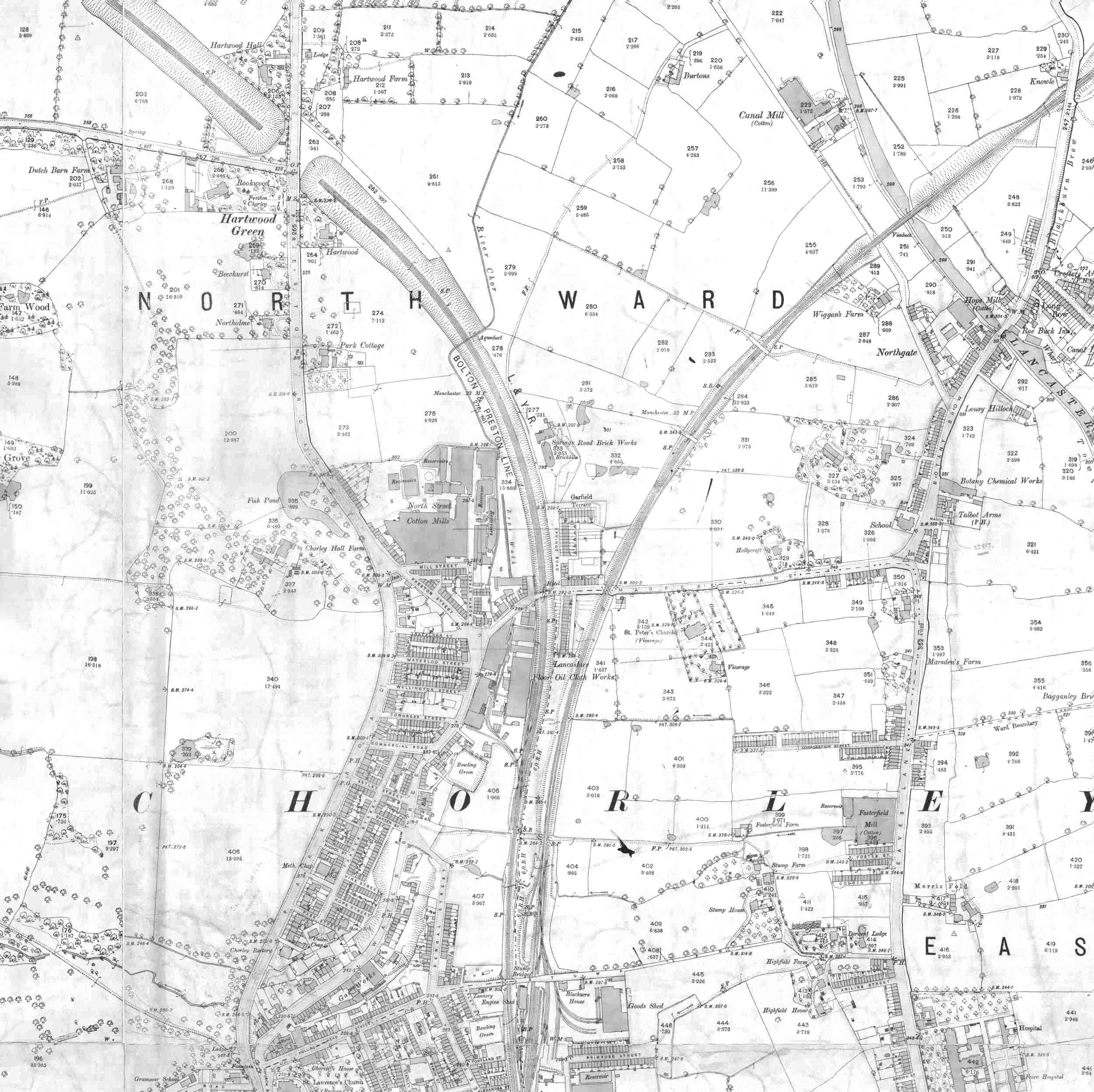 Lancashire County Council Environment Directorate Old Maps